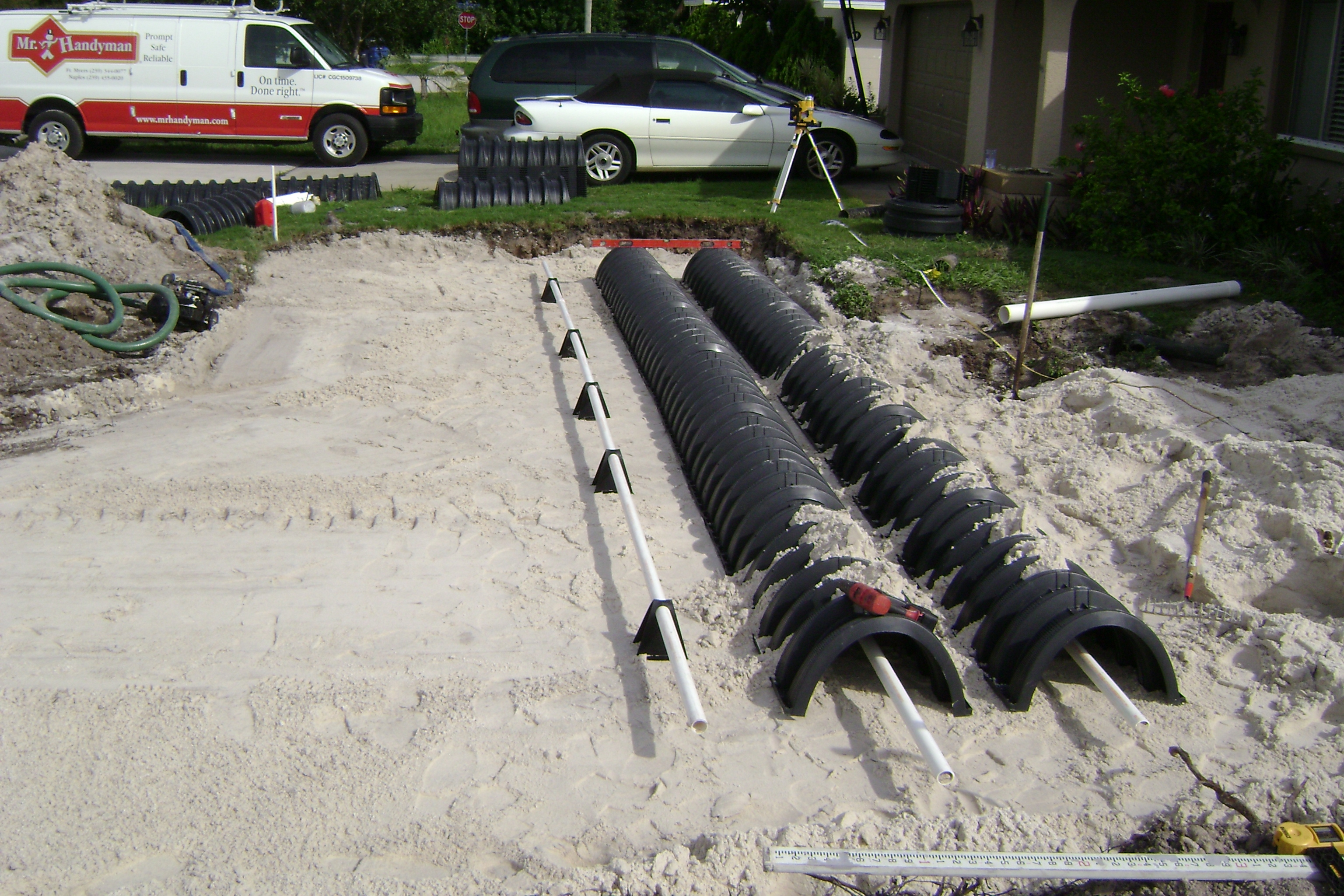 Septic & Drain Field Photos | Fort Myers, Cape Coral & Punta
